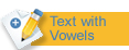Text with vowels